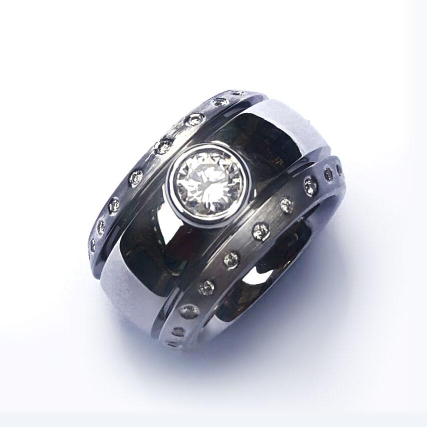 Strakke bolle ring