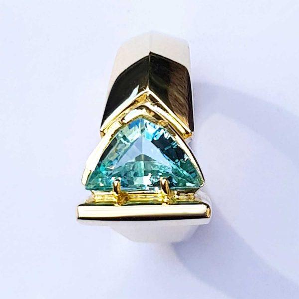 aquamarijn ring